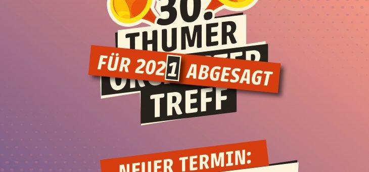 30. Thumer Orchesertreff erneut verschoben